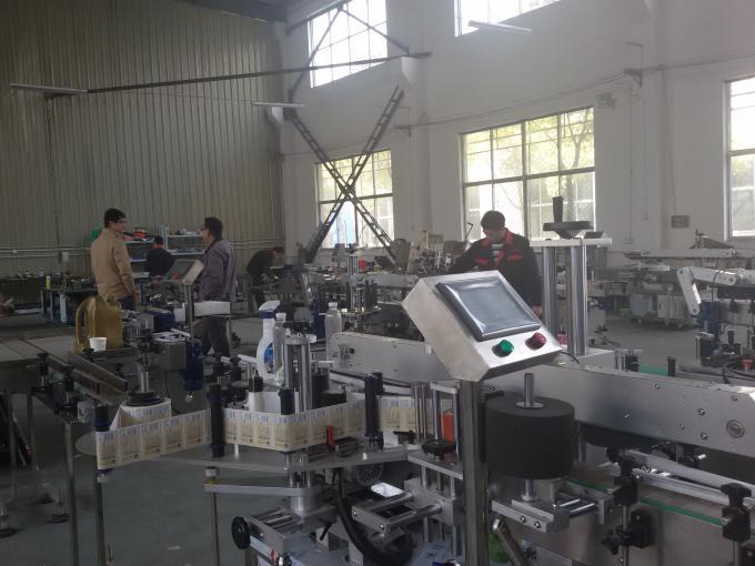 Idoralar sertifikati yuqori tezlikda avtomatik ikki tomonlama stiker yorliqlash mashinasi