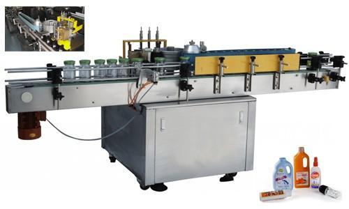 Bosimdagi shisha avtomatik stiker aplikatori, 550kg avtomatik yorliqlash mashinasi