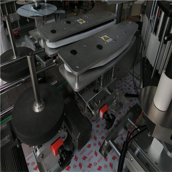 Dumaloq shishani etiketlash mashinasi / to'liq avtomatik tekis sirtli yorliqli aplikator