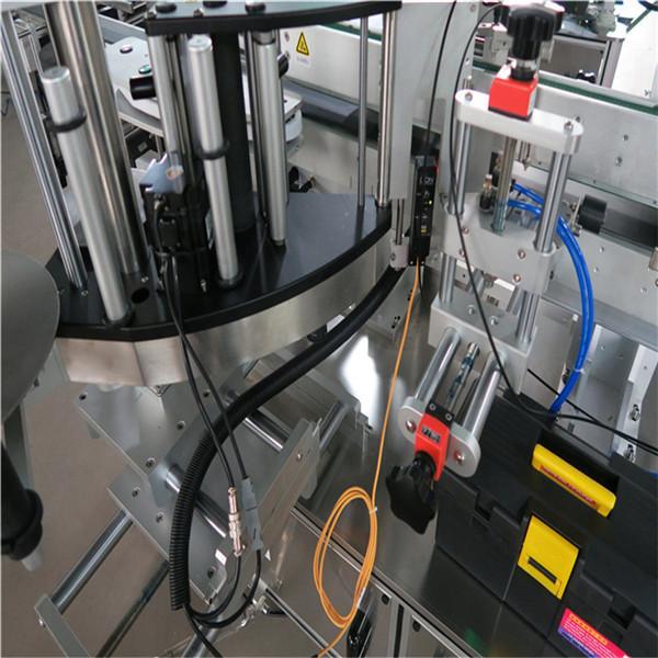To'liq avtomatik kvadrat shishani etiketkalash mashinasi 3000-5000B / soat atrofida o'raladi
