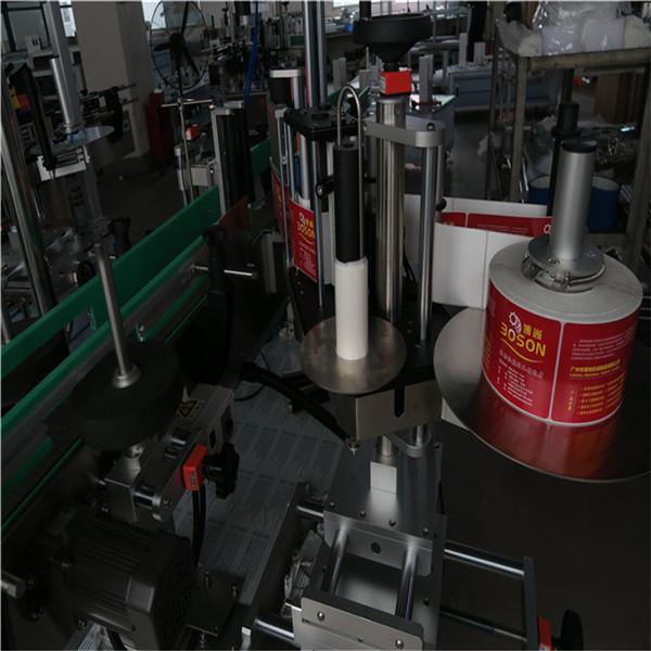 Avtomatik ikki yonli shishani etiketlash mashinasi yopishtiruvchi yorliqli stikka shampun sharob