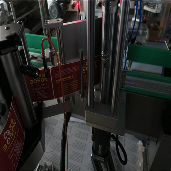 Idoralar uchun avtomatik stiker etiketlash mashinasi / butilkalar uchun bosim sezgir etiketlash mashinasi