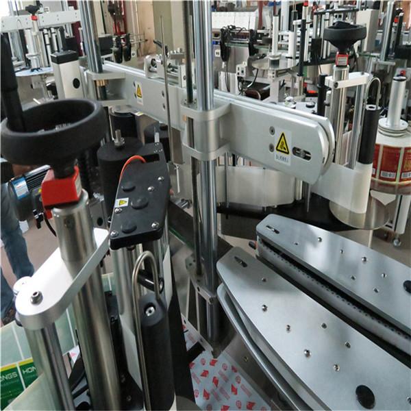 Ajinlar yo'q Barqaror avtomatlashtirilgan etiketlash mashinasi 30 mm qalinlikdagi alyuminiy qotishma plitasi