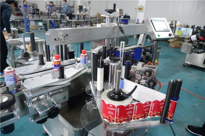 Pvc oziq-ovqat uchun avtomatik aerosol qutilari stikeri etiketkalash mashinasi eng ko'p sotiladigan shisha yumaloq etiketka aplikatori