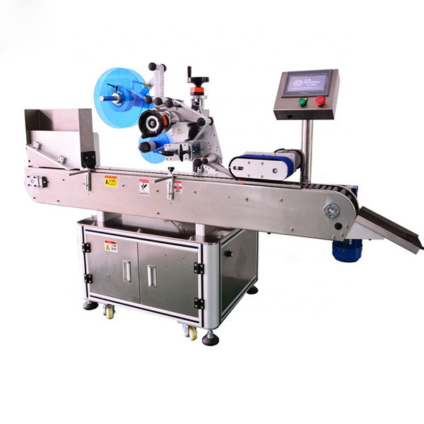 Avtomatik shisha etiketkalash mashinasi E suyuq shisha uchun yuqori standart