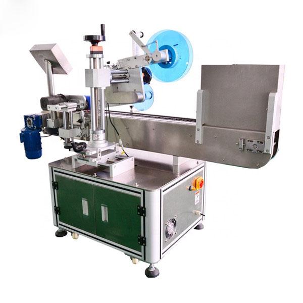 Avtomatik shisha idishni gorizontal etiketlash mashinasi alyuminiy qotishmasi