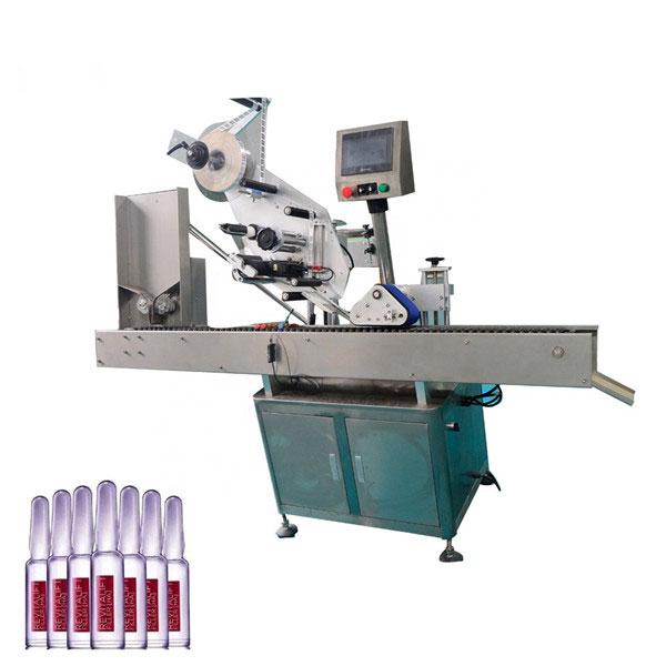 Intelligent Control Sus304 Economy Avtomatik kosmetika flakonini yorliqlash mashinasi