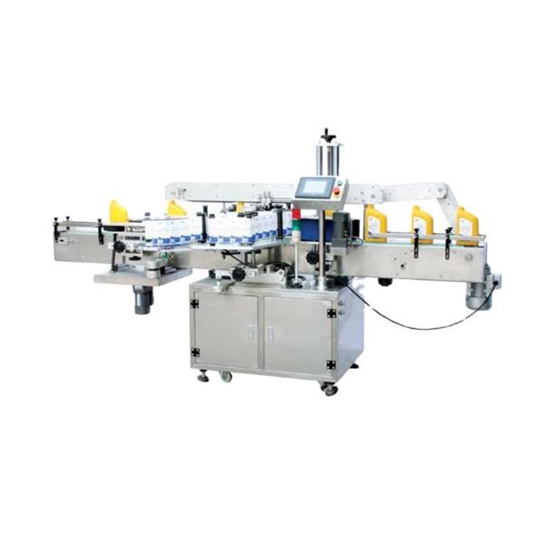 Siemens Plc avtomatik pivo dumaloq shishani etiketlash mashinasi