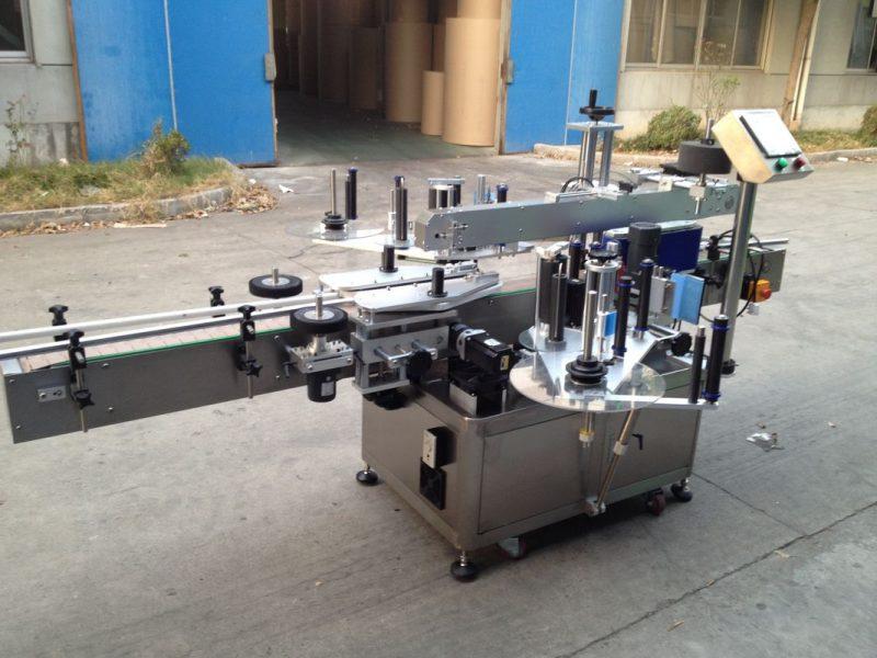 Xitoy bosimli shisha avtomatik stiker aplikatori, 550 kg avtomatik yorliqlash mashinasi etkazib beruvchisi