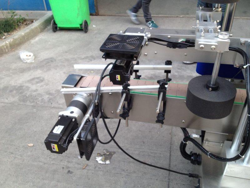 Dumaloq shisha 50HZ 380V quvvat manbai uchun sovuq / nam eritilgan elim yopishtiruvchi aplikator mashinasi