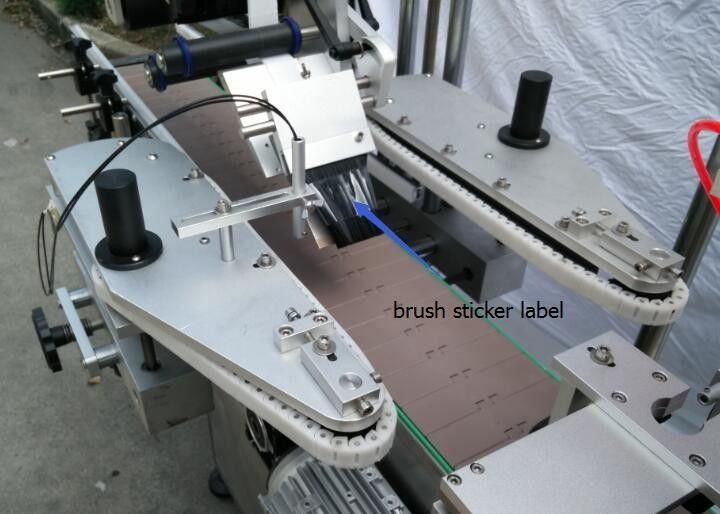 Pivo shishasi uchun vosita uchun avtomatik dumaloq shisha stiker etiketkalash mashinasi
