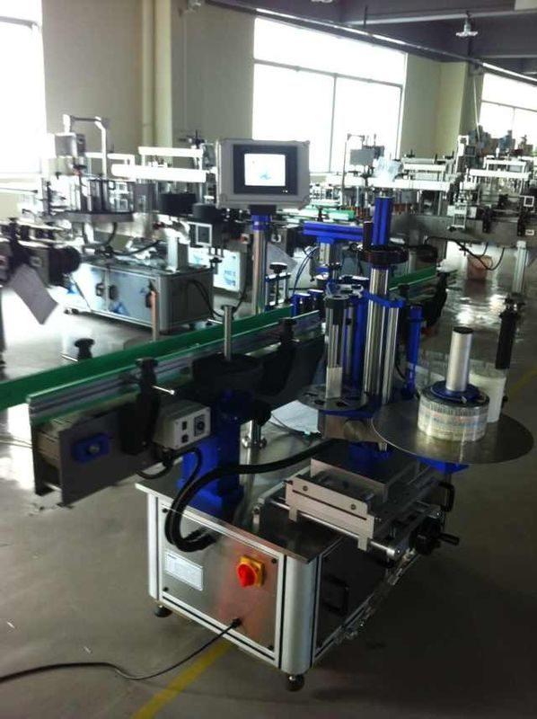 Xitoyning to'liq avtomatik stiker yorlig'i aplikatori, Idoralar sertifikati bilan shishani etiketlash mashinasi