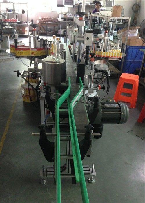 Idoralar stikeri yorlig'i aplikatori, sharob shishasini etiketlash mashinasi Servo Motors haydash