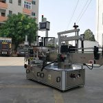 Yuqori tezlikda avtomatik uch tomonli kvadrat shishani yorliqli aplikator mashinasi