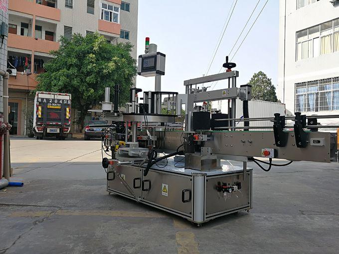 Yagona yorliqli yuqori tezlikda avtomatik uch qirrali kvadrat shishaning yorlig'i aplikator mashinasi