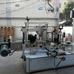 PLC sensorli ekranli o'z-o'zidan yopishqoq silindrsimon / oval shishani etiketlash mashinasi